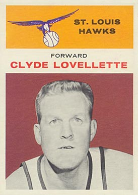 1961 Fleer Clyde Lovellette #29 Basketball Card