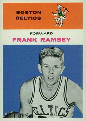 1961 Fleer Frank Ramsey #35 Basketball Card