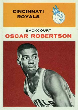 1961 Fleer Oscar Robertson #36 Basketball Card