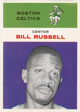1961 Fleer Bill Russell #38 Basketball Card