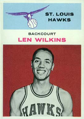 1961 Fleer Len Wilkens #44 Basketball Card