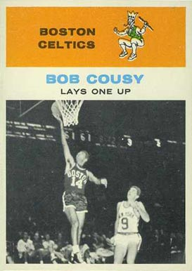 1961 Fleer Bob Cousy #49 Basketball Card