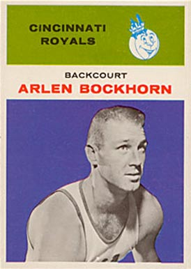 1961 Fleer Arlen Bockhorn #5 Basketball Card