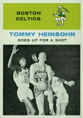 1961 Fleer Tom Heinsohn #54 Basketball Card