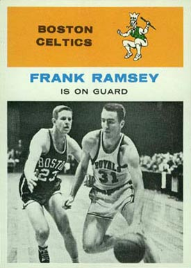 1961 Fleer Frank Ramsey #60 Basketball Card