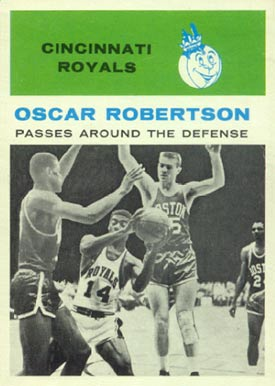 1961 Fleer Oscar Robertson #61 Basketball Card