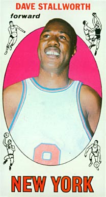 1969 Topps Dave Stallworth #74 Basketball Card