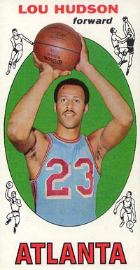 1969 Topps Lou Hudson #65 Basketball Card