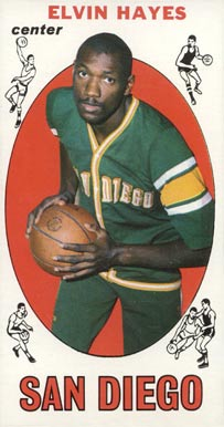 1969 Topps Elvin Hayes #75 Basketball Card