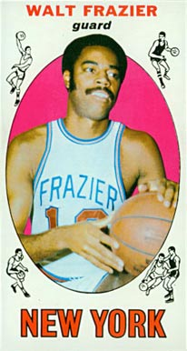 1969 Topps Walt Frazier #98 Basketball Card
