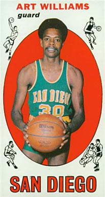 1969 Topps Art Williams #96 Basketball Card