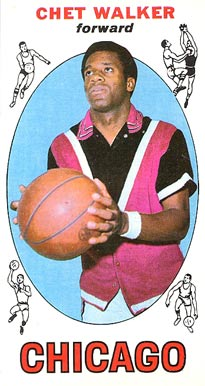 1969 Topps Chet Walker #91 Basketball Card