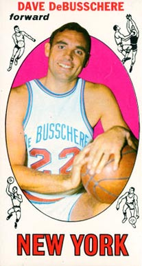 1969 Topps Dave Debusschere #85 Basketball Card
