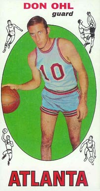 1969 Topps Don Ohl #77 Basketball Card