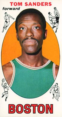 1969 Topps Tom Sanders #72 Basketball Card