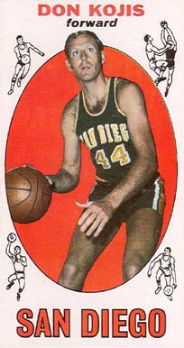 1969 Topps Don Kojis #64 Basketball Card