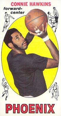 1969 Topps Connie Hawkins #15 Basketball Card