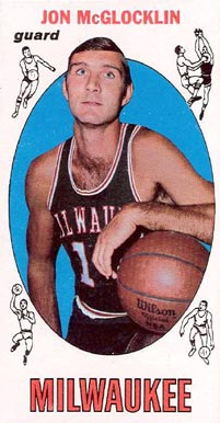 1969 Topps Jon McGlocklin #14 Basketball Card