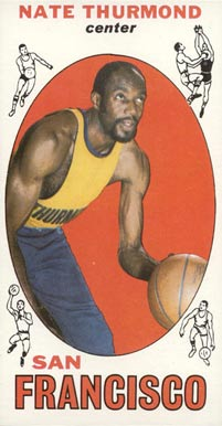 1969 Topps Nate Thurmond #10 Basketball Card
