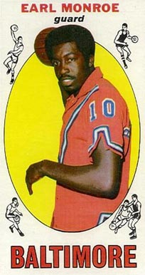 1969 Topps Earl Monroe #80 Basketball Card