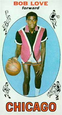 1969 Topps Bob Love #78 Basketball Card