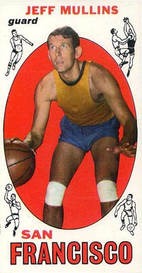 1969 Topps Jeff Mullins #70 Basketball Card
