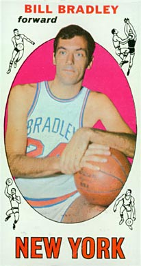 1969 Topps Bill Bradley #43 Basketball Card