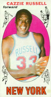 1969 Topps Cazzie Russell #3 Basketball Card