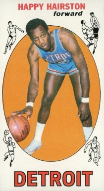 1969 Topps Happy Hairston #83 Basketball Card
