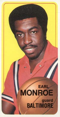 1970 Topps Earl Monroe #20 Basketball Card