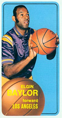 1970 Topps Elgin Baylor #65 Basketball Card