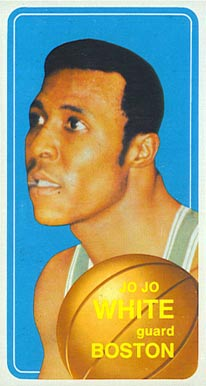 1970 Topps Jo Jo White #143 Basketball Card