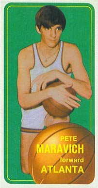 1970 Topps Pete Maravich #123 Basketball Card