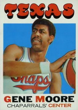 1971 Topps Gene Moore #231 Basketball Card