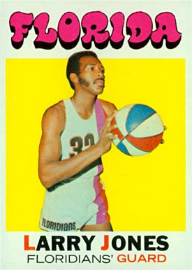 1971 Topps Larry Jones #230 Basketball Card