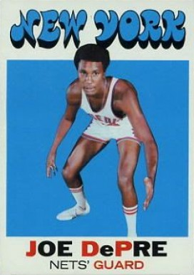 1971 Topps Joe Depre #226 Basketball Card