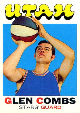 1971 Topps Glen Combs #215 Basketball Card