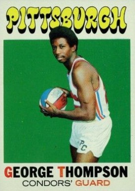1971 Topps George Thompson #202 Basketball Card