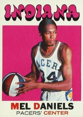 1971 Topps Mel Daniels #195 Basketball Card