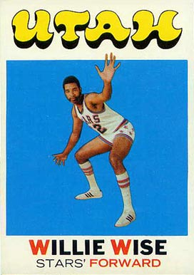 1971 Topps Willie Wise #194 Basketball Card