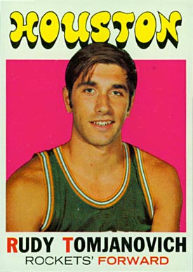 1971 Topps Rudy Tomjanovich #91 Basketball Card