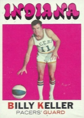 1971 Topps Bill Keller #171 Basketball Card