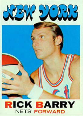 1971 Topps Rick Barry #170 Basketball Card