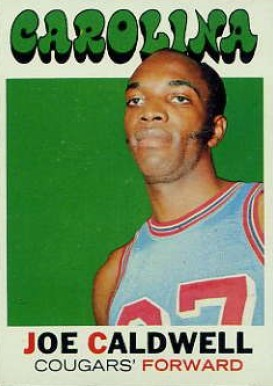 1971 Topps Joe Caldwell #155 Basketball Card