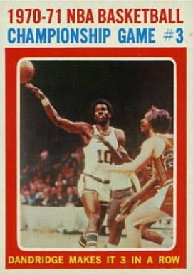 1971 Topps   #135 Basketball Card