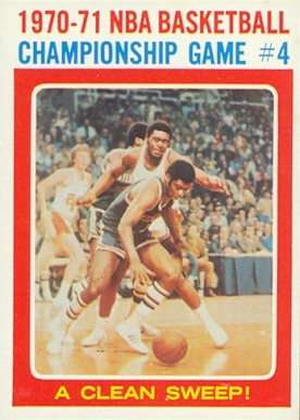 1971 Topps   #136 Basketball Card