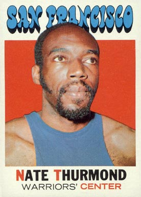 1971 Topps Nate Thurmond #131 Basketball Card