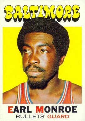 1971 Topps Earl Monroe #130 Basketball Card