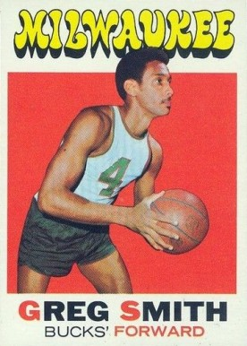 1971 Topps Greg Smith #129 Basketball Card