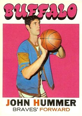 1971 Topps John Hummer #125 Basketball Card